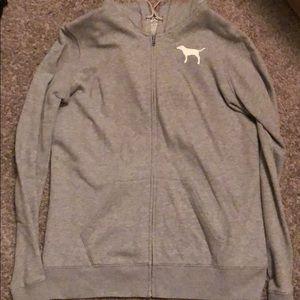 Grey Pink Sweatshirt